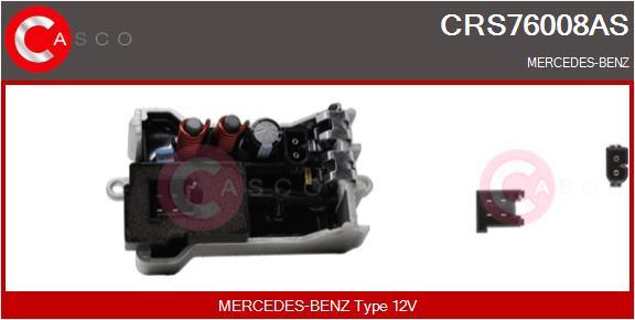 Resistance moteur de ventilateur de chauffage CASCO CRS76008AS (X1)