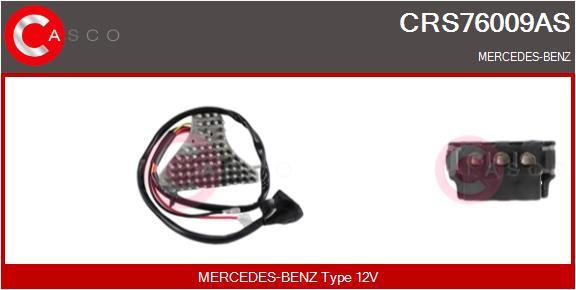 Resistance moteur de ventilateur de chauffage CASCO CRS76009AS (X1)