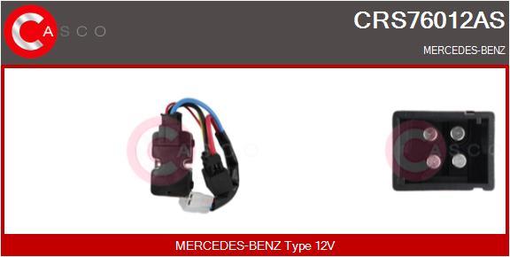 Resistance moteur de ventilateur de chauffage CASCO CRS76012AS (X1)