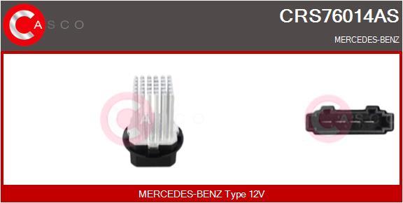 Resistance moteur de ventilateur de chauffage CASCO CRS76014AS (X1)