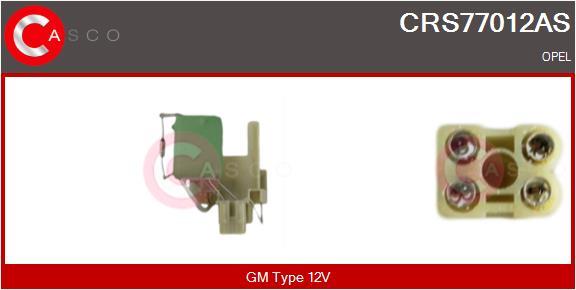 Resistance ventilateur CASCO CRS77012AS (X1)