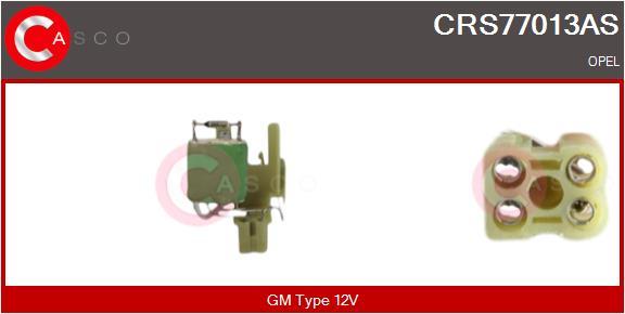 Resistance ventilateur CASCO CRS77013AS (X1)
