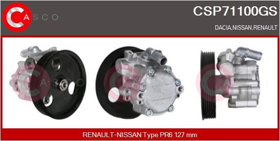 Pompe direction assistee CASCO CSP71100GS (X1)