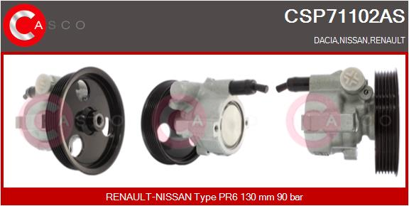 Pompe direction assistee CASCO CSP71102AS (X1)