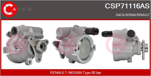 Pompe direction assistee CASCO CSP71116AS (X1)