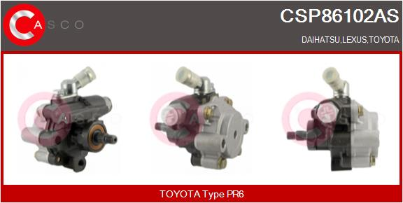 Pompe direction assistee CASCO CSP86102AS (X1)