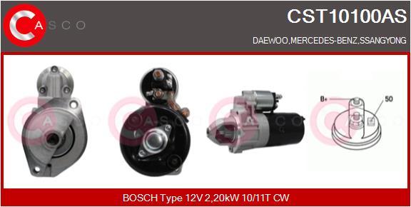 Demarreur CASCO CST10100AS (X1)