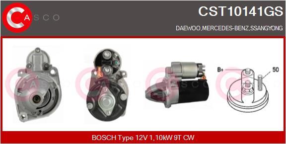 Demarreur CASCO CST10141GS (X1)
