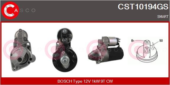 Demarreur CASCO CST10194GS (X1)