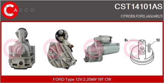 Demarreur CASCO CST14101AS (X1)