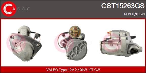 Demarreur CASCO CST15263GS (X1)