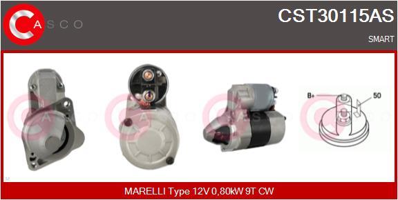 Demarreur CASCO CST30115AS (X1)
