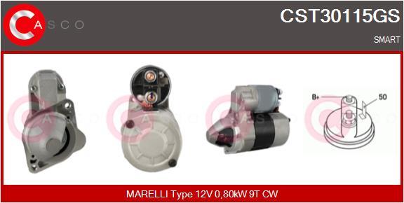 Demarreur CASCO CST30115GS (X1)