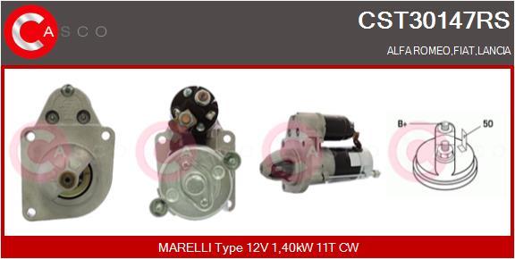 Demarreur CASCO CST30147RS (X1)