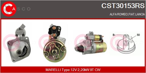 Demarreur CASCO CST30153RS (X1)