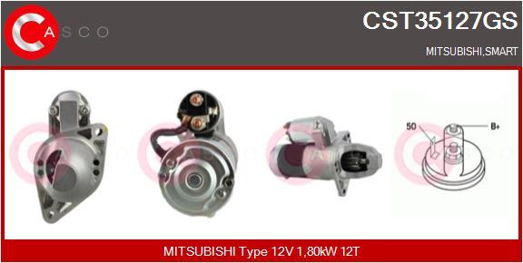 Demarreur CASCO CST35127GS (X1)