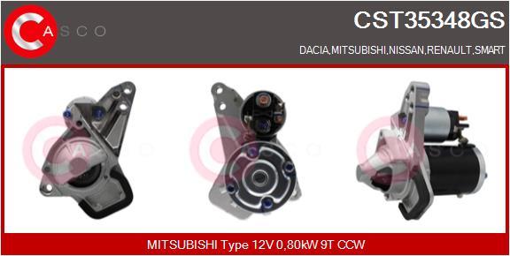 Demarreur CASCO CST35348GS (X1)