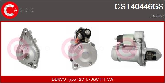 Demarreur CASCO CST40446GS (X1)