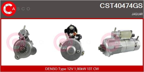 Demarreur CASCO CST40474GS (X1)