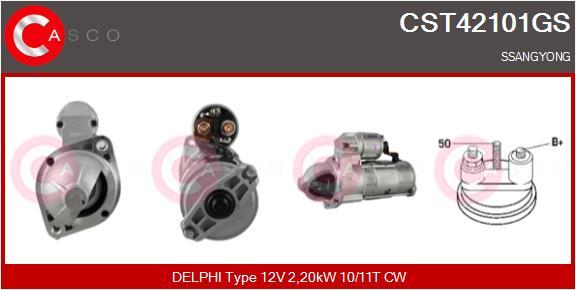 Demarreur CASCO CST42101GS (X1)