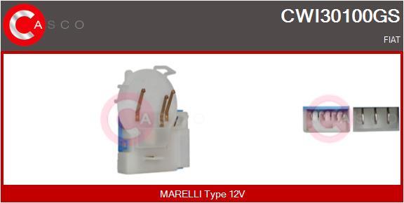Régulateur, intervalle d'essuyage CASCO CWI30100GS (X1)