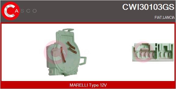 Régulateur, intervalle d'essuyage CASCO CWI30103GS (X1)