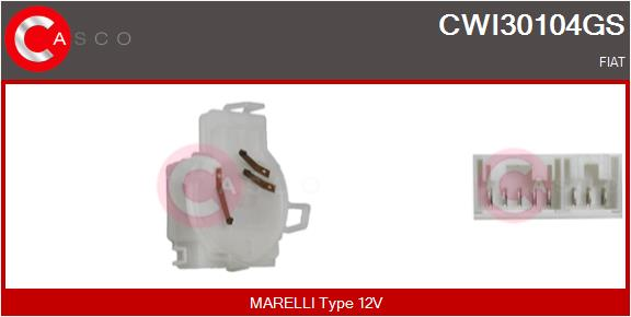 Régulateur, intervalle d'essuyage CASCO CWI30104GS (X1)