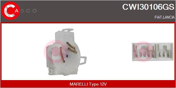 Régulateur, intervalle d'essuyage CASCO CWI30106GS (X1)