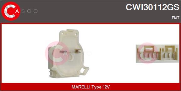Régulateur, intervalle d'essuyage CASCO CWI30112GS (X1)