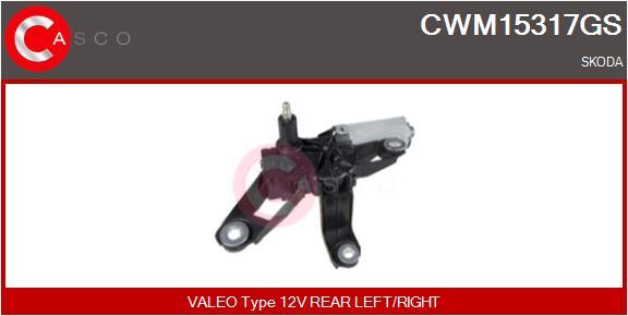 Moteur essuie glace CASCO CWM15317GS (X1)