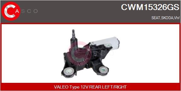 Moteur essuie glace CASCO CWM15326GS (X1)