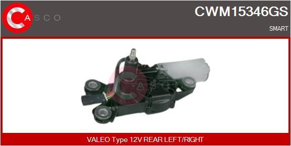 Moteur essuie glace CASCO CWM15346GS (X1)