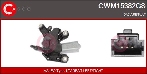 Moteur essuie glace CASCO CWM15382GS (X1)