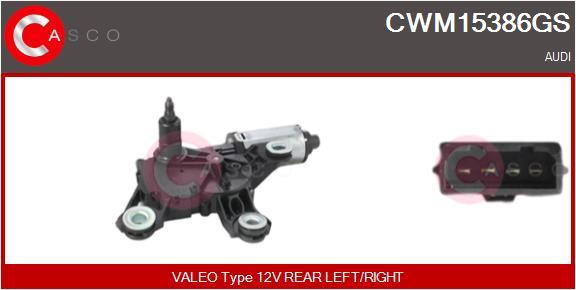 Moteur essuie glace CASCO CWM15386GS (X1)