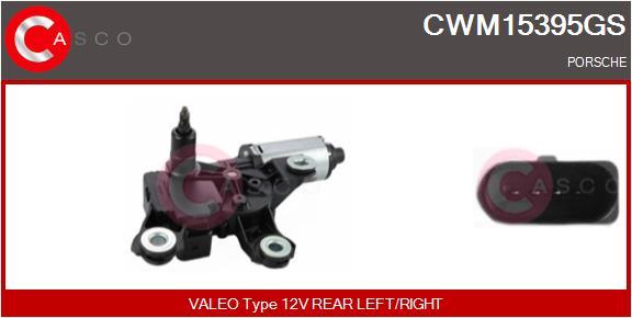 Moteur essuie glace CASCO CWM15395GS (X1)