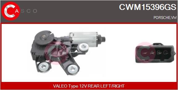 Moteur essuie glace CASCO CWM15396GS (X1)