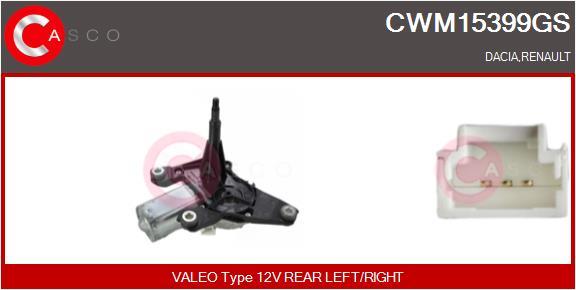 Moteur essuie glace CASCO CWM15399GS (X1)