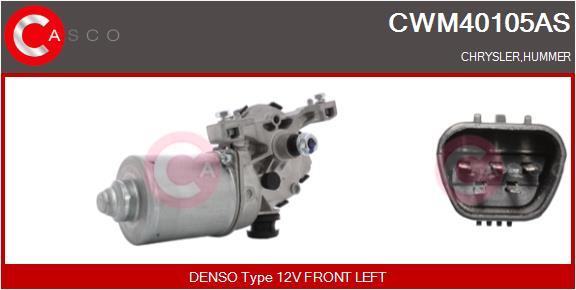 Moteur essuie glace CASCO CWM40105AS (X1)