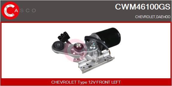 Moteur essuie glace CASCO CWM46100GS (X1)