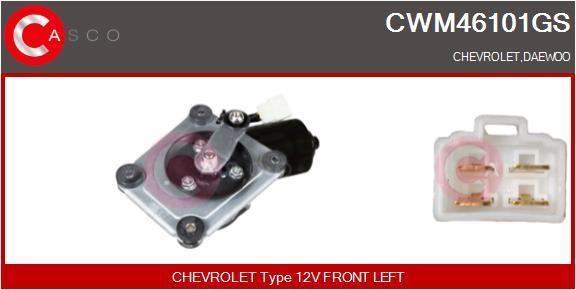 Moteur essuie glace CASCO CWM46101GS (X1)