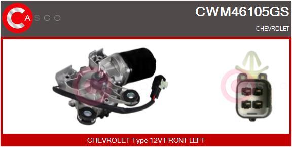 Moteur essuie glace CASCO CWM46105GS (X1)