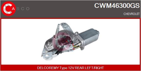Moteur essuie glace CASCO CWM46300GS (X1)
