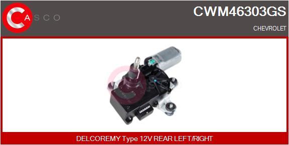 Moteur essuie glace CASCO CWM46303GS (X1)