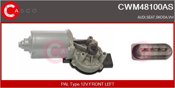 Moteur essuie glace CASCO CWM48100AS (X1)