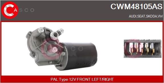 Moteur essuie glace CASCO CWM48105AS (X1)