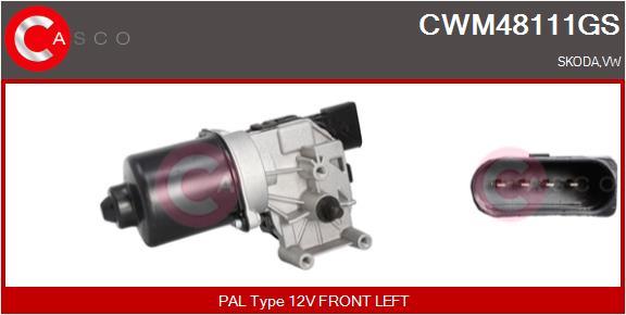 Moteur essuie glace CASCO CWM48111GS (X1)