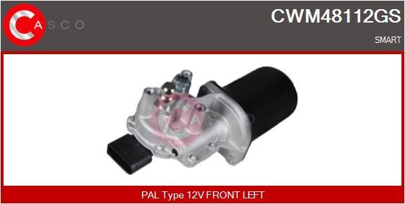 Moteur essuie glace CASCO CWM48112GS (X1)