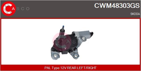 Moteur essuie glace CASCO CWM48303GS (X1)