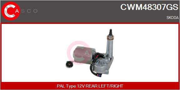 Moteur essuie glace CASCO CWM48307GS (X1)