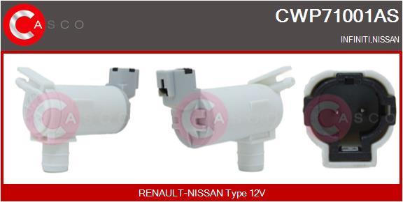 Pompe de lave-glace CASCO CWP71001AS (X1)